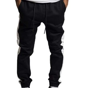 Other - Men twill drop crotch jogger slim fit pants.